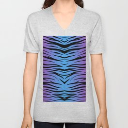 Magic Zebra Unisex V-Neck