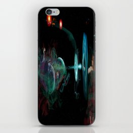 Destruction of the Universe iPhone Skin