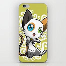 Zodiac Cats - Gemini iPhone Skin