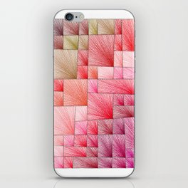 Red Square iPhone Skin