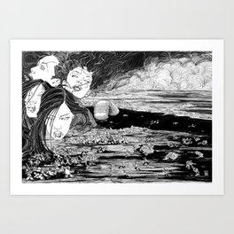 Qelong Art Print