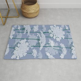 Queen Anne's Lace | Country Blue Rug
