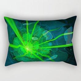 Atlantian Fractal -- Flower of the Long Sleep Rectangular Pillow