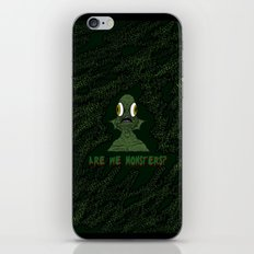 Are we monsters? iPhone & iPod Skin