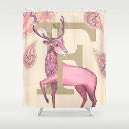 Fiadh Deer Shower Curtain