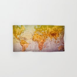 Colorful World Hand & Bath Towel