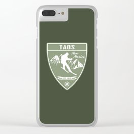 Taos New Mexico Clear iPhone Case