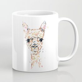 Llama Llama - Colorful Watercolor Painting Coffee Mug