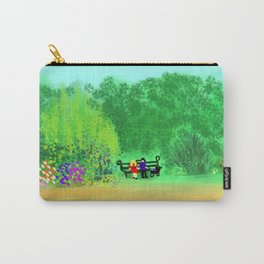 At the Park on a Lazy Sunday Afternoon... Carry-All Pouch