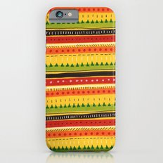Pattern Doodle (Yellow) Slim Case iPhone 6