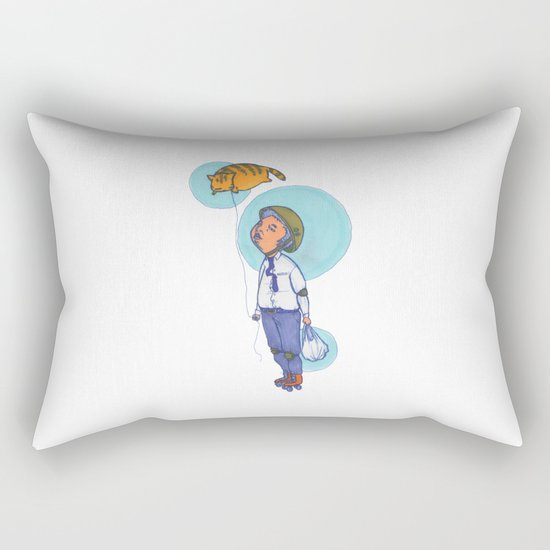 Topaz Dreaming. Rectangular Pillow