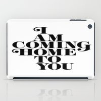 home sweet home iPad Cases featuring Home by Maheva K