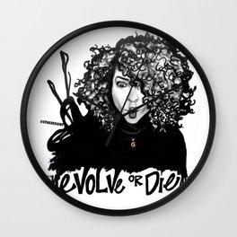 #STUKGIRL Erica Wall Clock