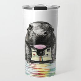Baby Hippo Travel Mug