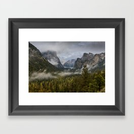 Yosemite National Park / Tunnel View  4/26/15 Framed Art Print