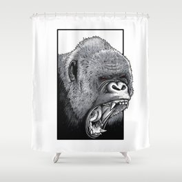 Harambe Shower Curtain