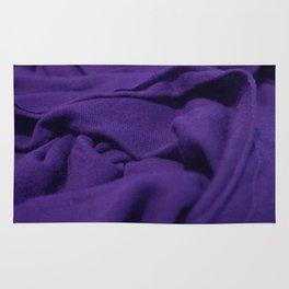 Purple Velvet Dune Textile Folds Concept Photography Rug