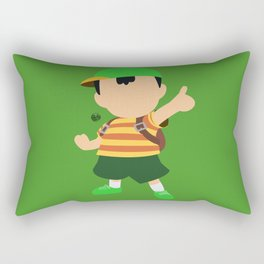 Ness(Smash)Green Rectangular Pillow