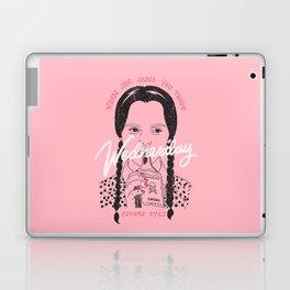 Wednesday Addams Eyes Laptop & iPad Skin