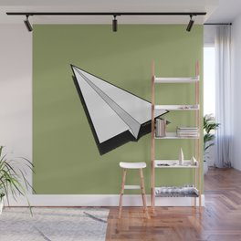 Paper Airplane 1 Wall Mural