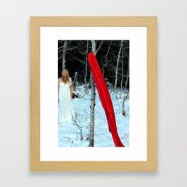 Flying.  Framed Art Print
