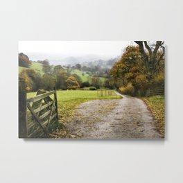 Hathersage, England  Metal Print