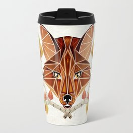 fox autumn Travel Mug