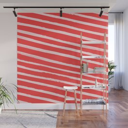 Candy Cane Wall Mural