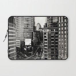 Boston, Massachusetts City Skyline Laptop Sleeve