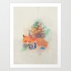 Unwrapped Art Print
