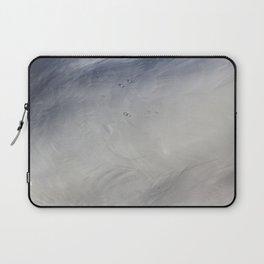 Swan Feathers Laptop Sleeve