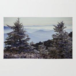 Snowy Appalachian Haze Rug