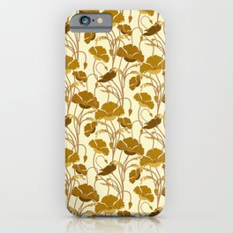 Sunfield Poppies iPhone Case