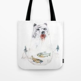 their life is not wild! Tote Bag