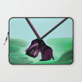 Relaxing in May with May - Shoes Stories Laptop Sleeve