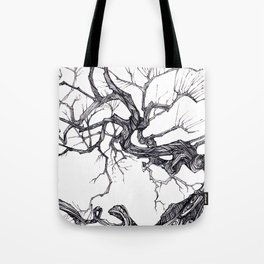 Gnarled Tree Tote Bag