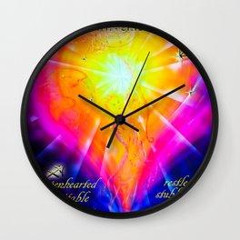 Zodiac sign Sagittarius  2 Wall Clock