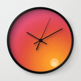 In the imagination's new beginning Wall Clock