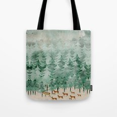 Into wilderness we go Tote Bag