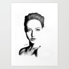 Portrait I Art Print