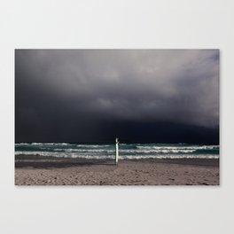 Through the Storm Canvas Print