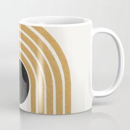 Abstract Rainbow Retro Graphic Coffee Mug