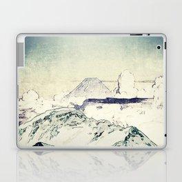 Flight Over Yatsugate Laptop & iPad Skin