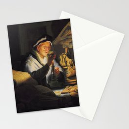 Rembrandt - The Parable of the Rich Fool Stationery Cards