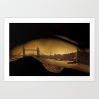 Wanderlust - Clasping onto London Art Print