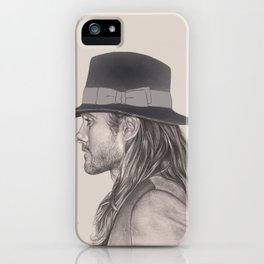 JARED LETO AND HIS HAT iPhone Case