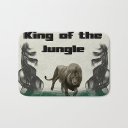 The King of The Jungle Bath Mat