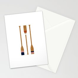 American Painted Oars Stationery Cards