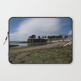 Torquay Corbyn Sands Beach Huts Laptop Sleeve