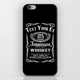 Text your Ex iPhone Skin